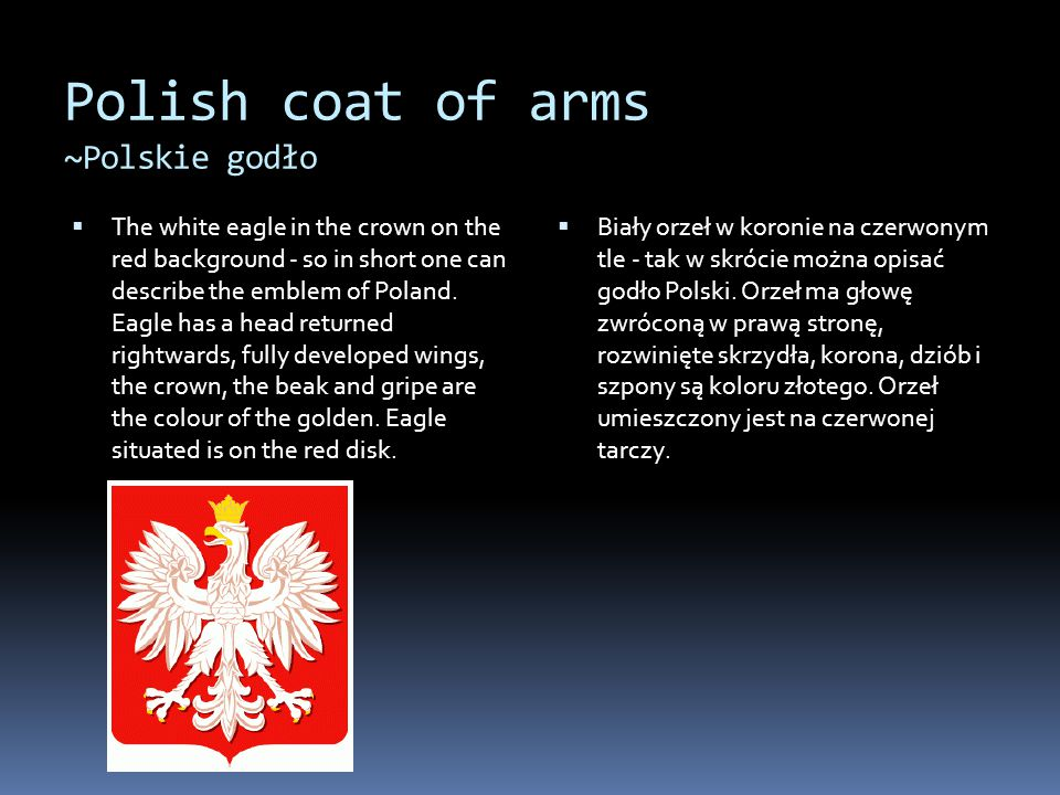 Polish coat of arms ~Polskie godło