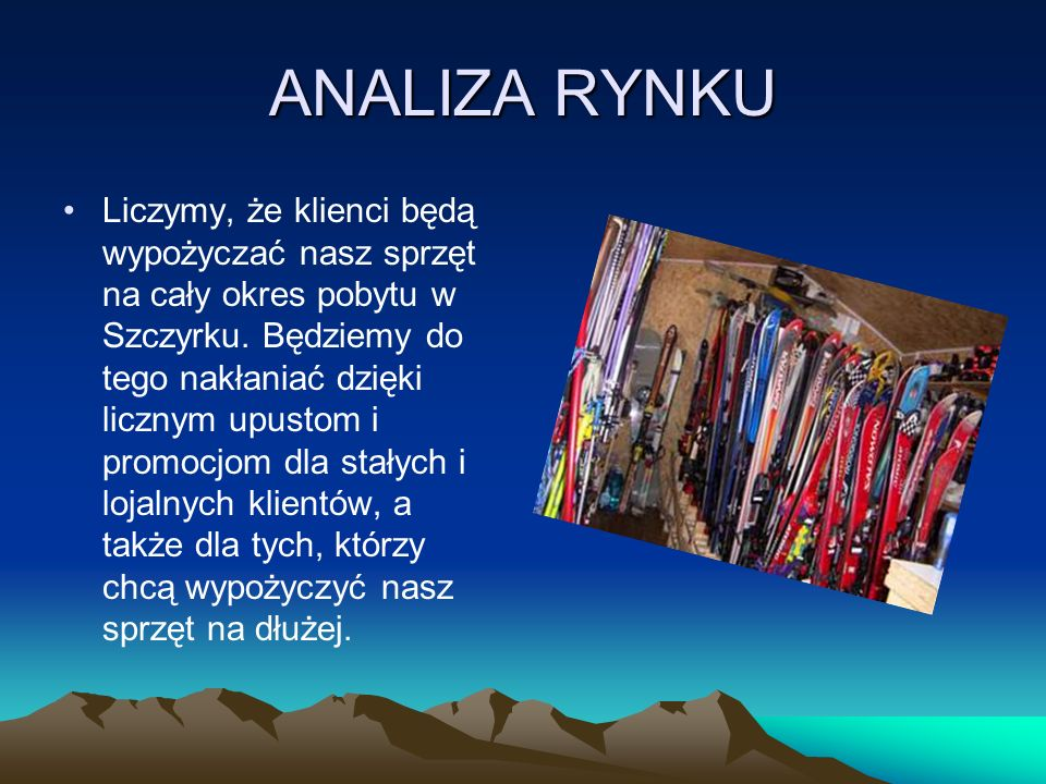ANALIZA RYNKU