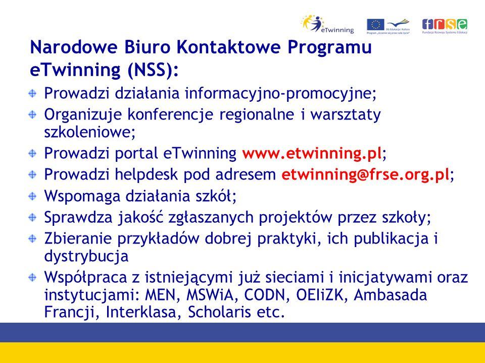 Narodowe Biuro Kontaktowe Programu eTwinning (NSS):