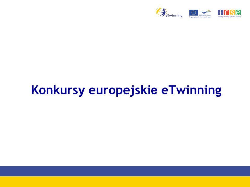 Konkursy europejskie eTwinning