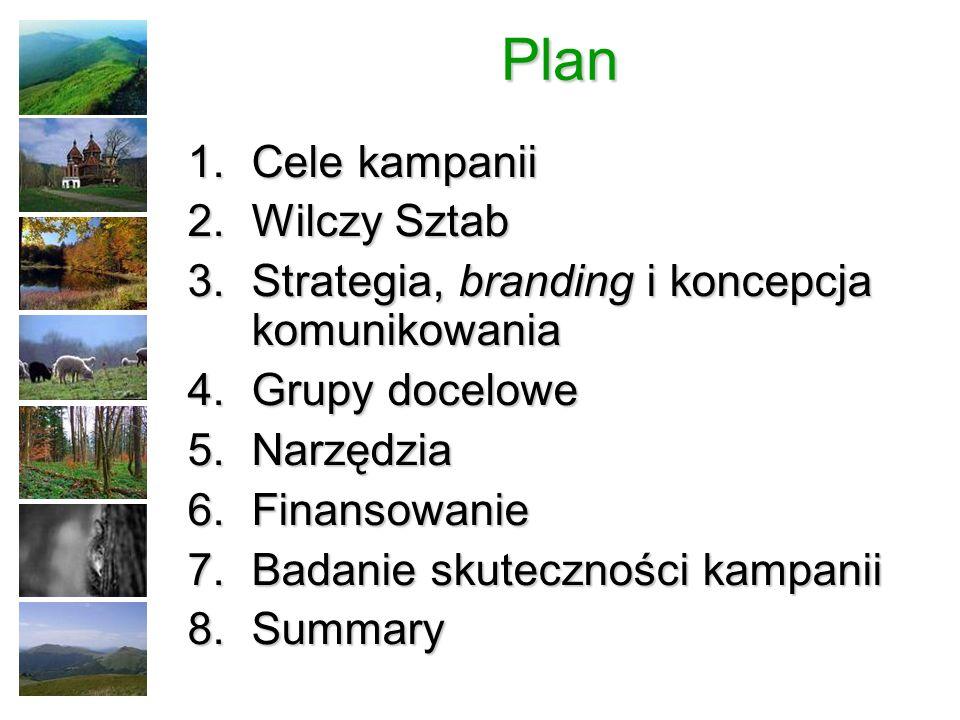 Plan Cele kampanii Wilczy Sztab