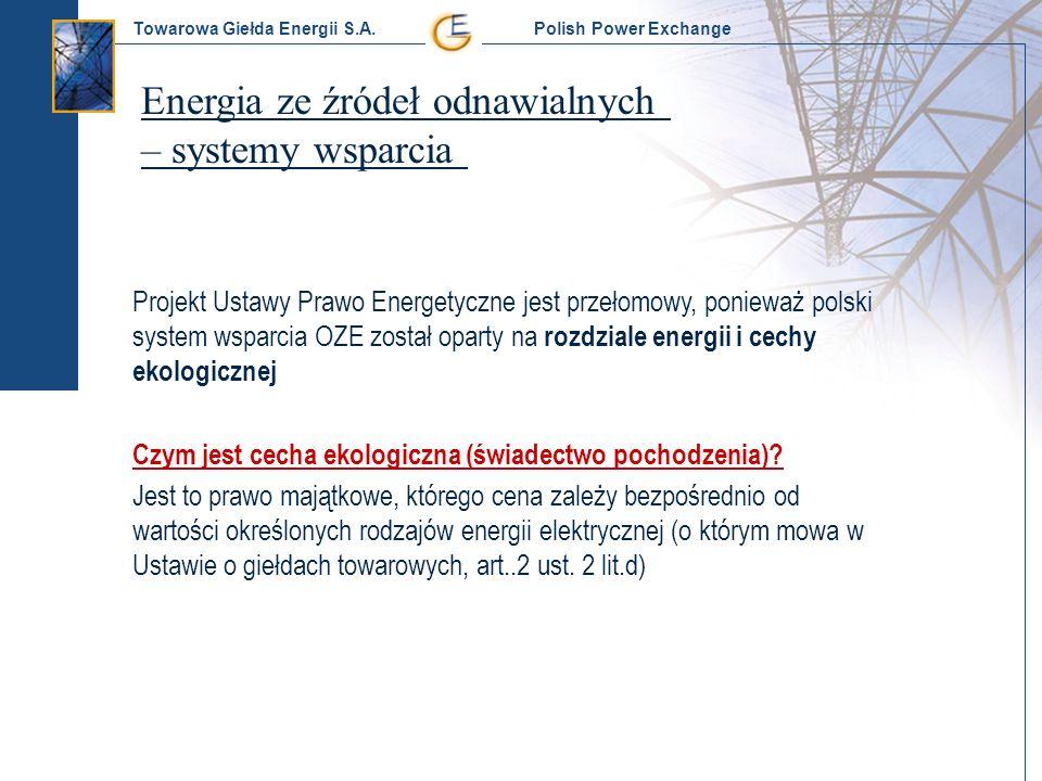 Energia ze źródeł odnawialnych – systemy wsparcia