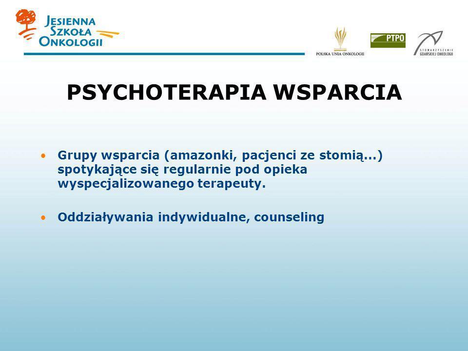 PSYCHOTERAPIA WSPARCIA