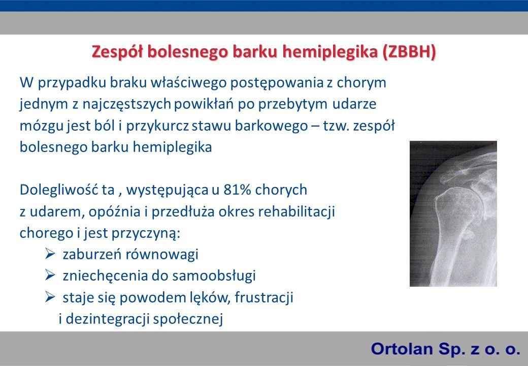 Zespół bolesnego barku hemiplegika (ZBBH)