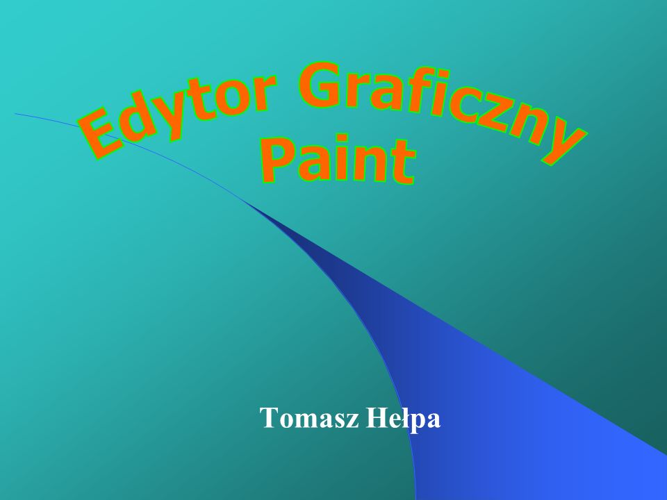 Edytor Graficzny Paint