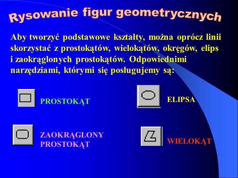 Rysowanie figur geometrycznych