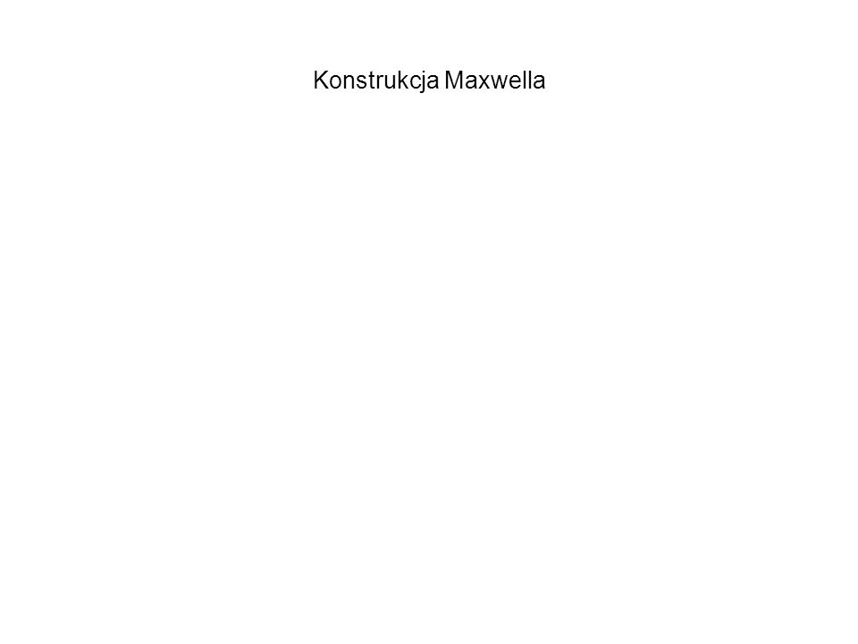 Konstrukcja Maxwella
