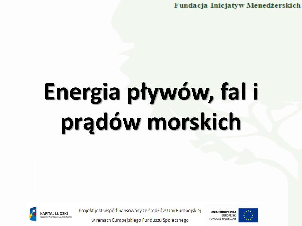 Energia pływów, fal i prądów morskich