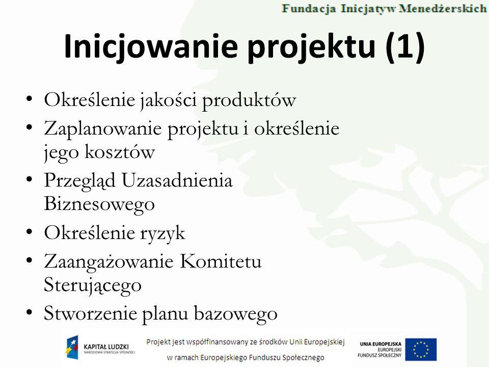Inicjowanie projektu (1)