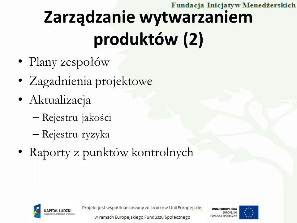 Zarządzanie wytwarzaniem produktów (2)