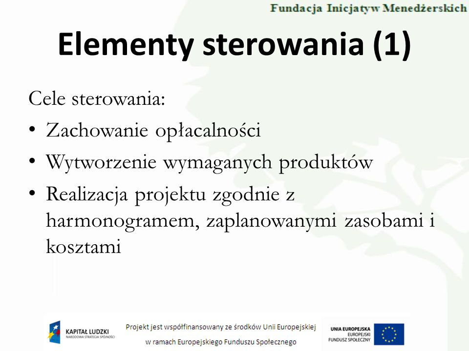 Elementy sterowania (1)