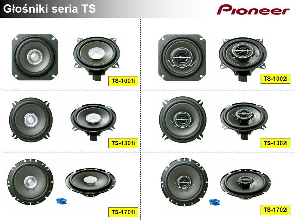 Głośniki seria TS TS-1002i TS-1001i TS-1301i TS-1302i TS-1702i