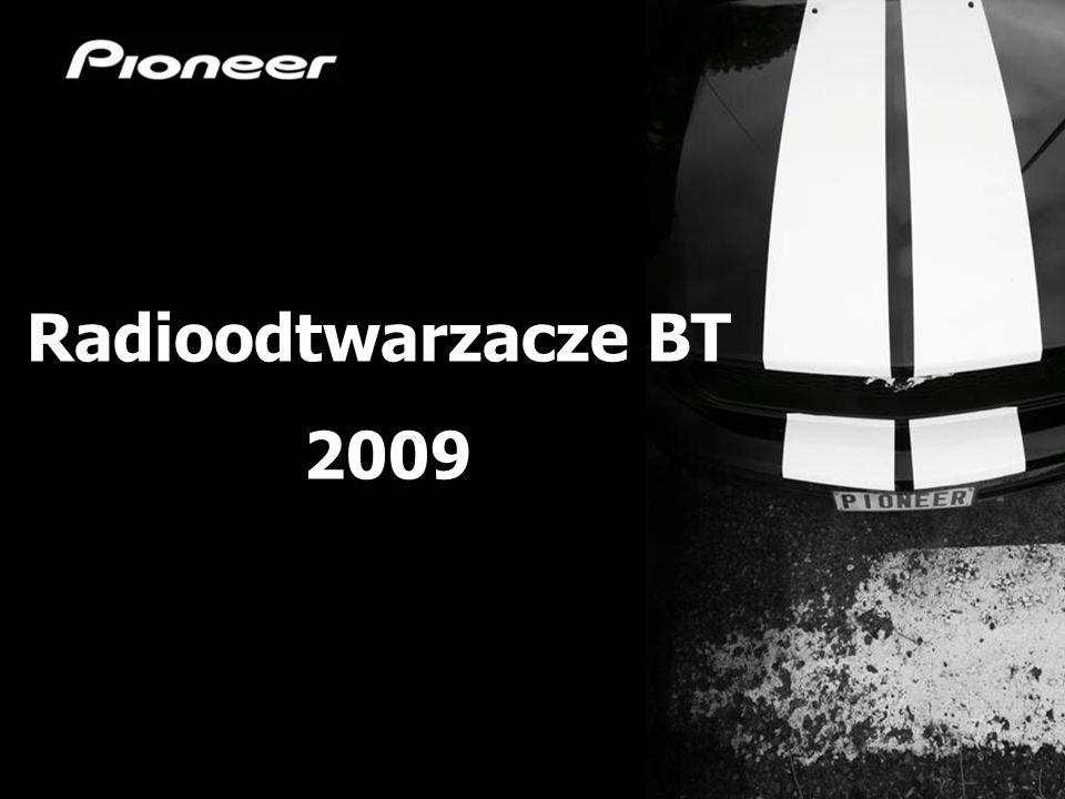 Radioodtwarzacze BT 2009