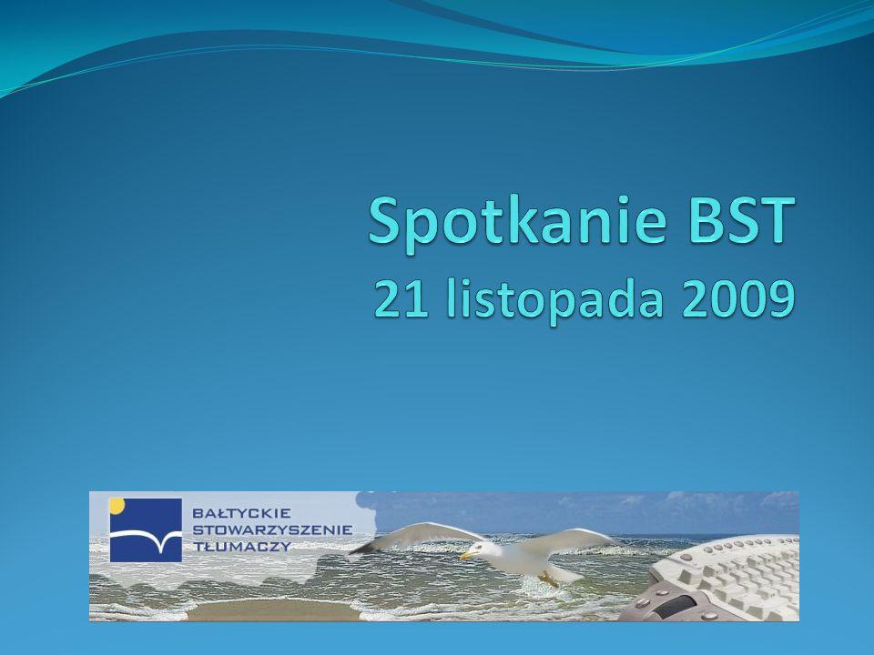 Spotkanie BST 21 listopada 2009