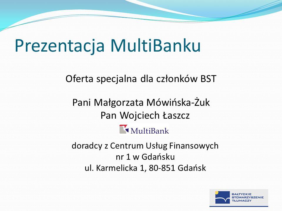 Prezentacja MultiBanku
