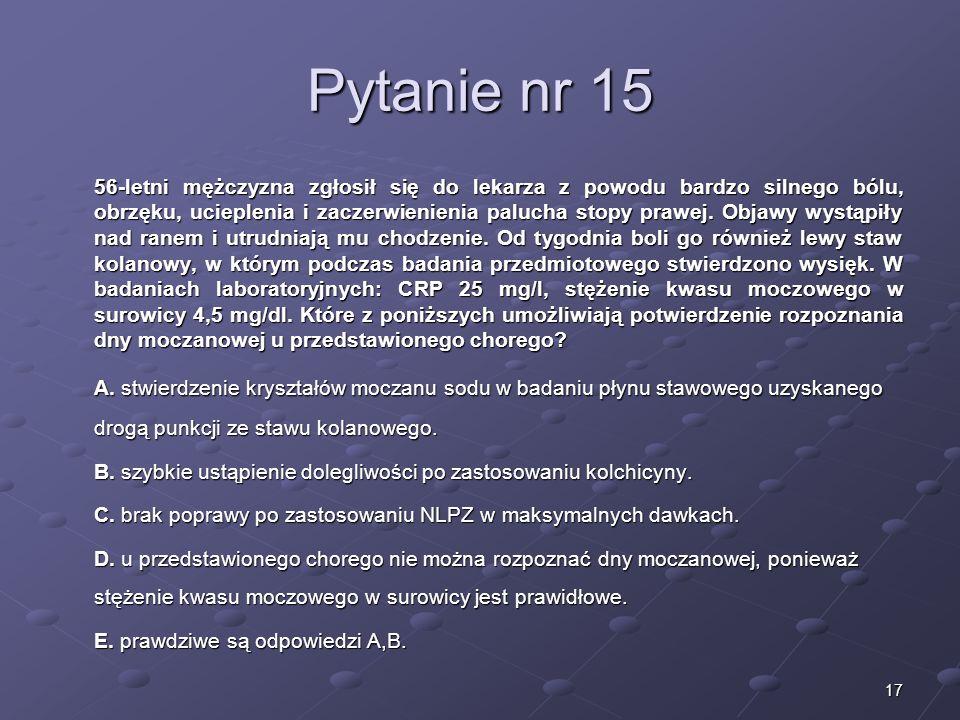 Kariera lekarza Lek. Marcin Żytkiewicz. Pytanie nr 15.