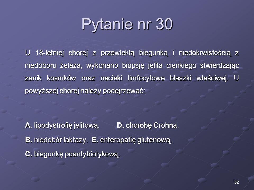 Kariera lekarza Lek. Marcin Żytkiewicz. Pytanie nr 30.