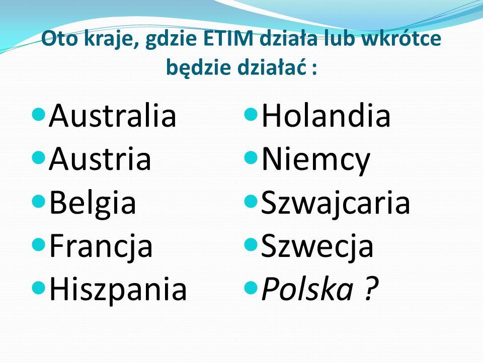 Oto kraje, gdzie ETIM działa lub wkrótce będzie działać :