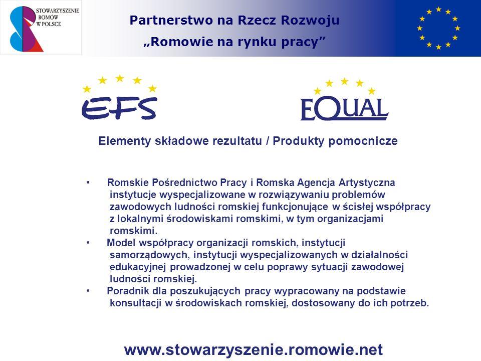 www.stowarzyszenie.romowie.net Partnerstwo na Rzecz Rozwoju