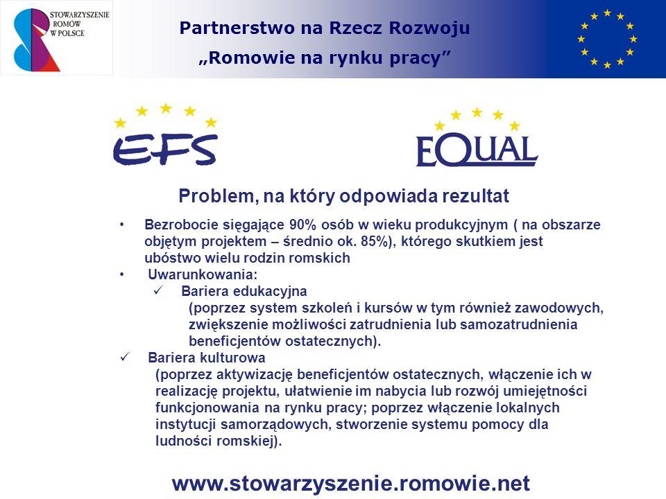 www.stowarzyszenie.romowie.net Problem, na który odpowiada rezultat