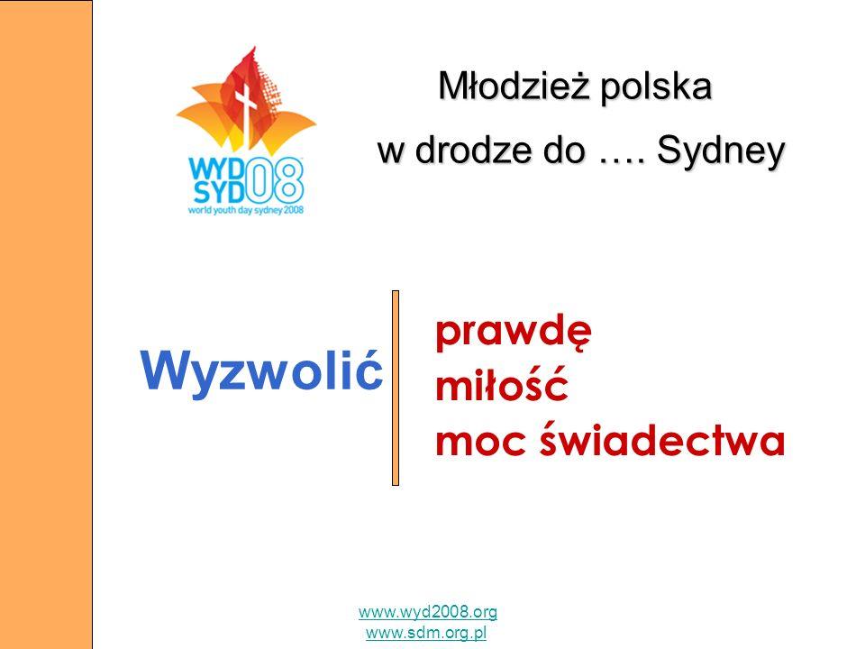 Młodzież polska w drodze do …. Sydney