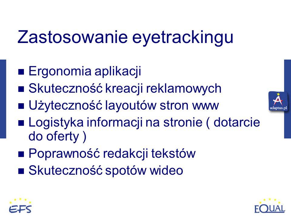 Zastosowanie eyetrackingu