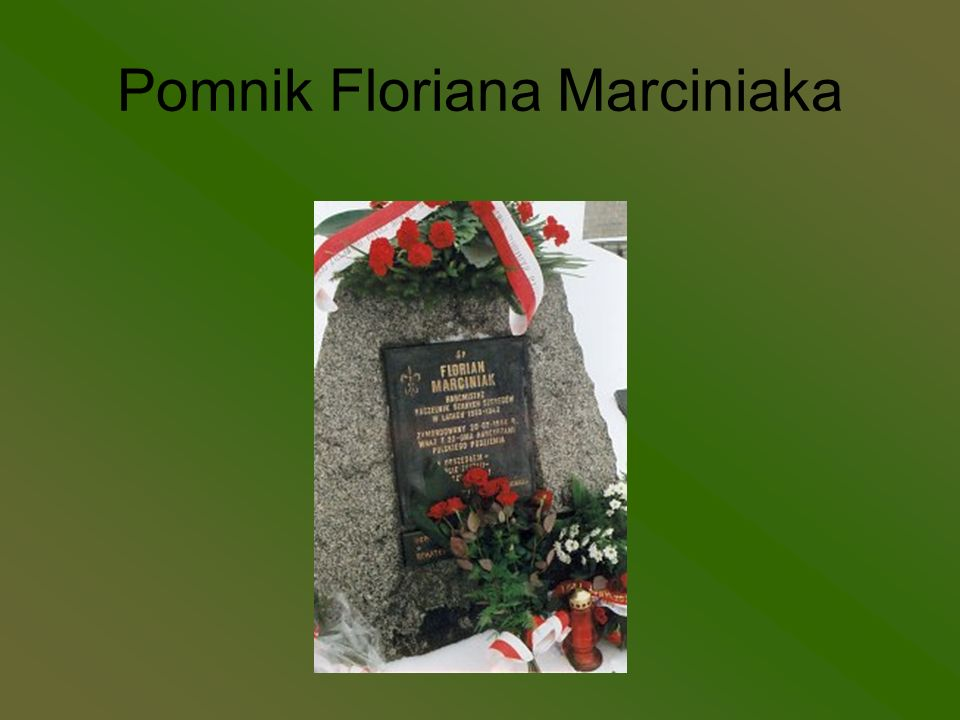 Pomnik Floriana Marciniaka
