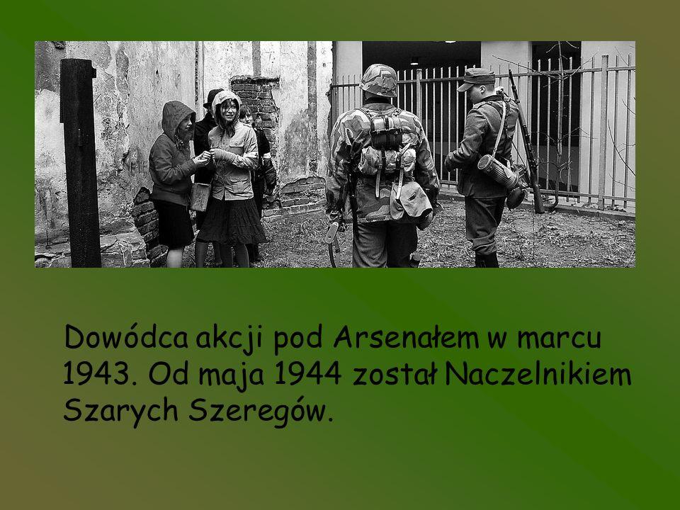 Dowódca akcji pod Arsenałem w marcu 1943