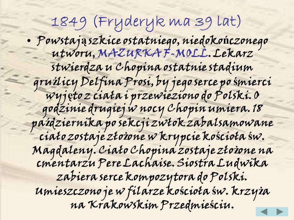 1849 (Fryderyk ma 39 lat)