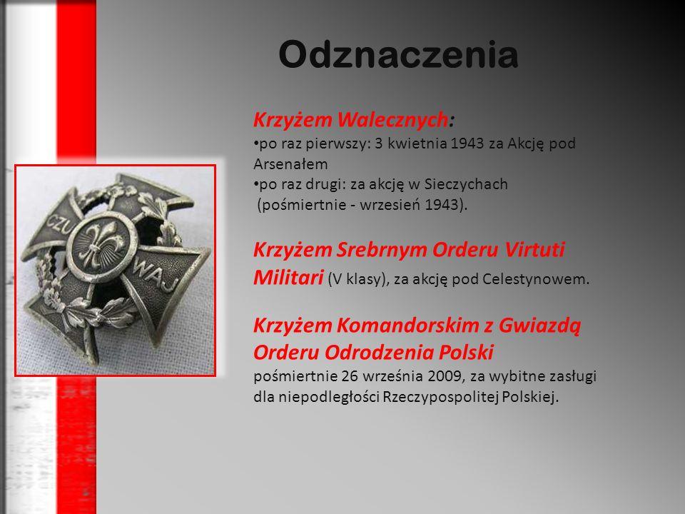 Odznaczenia Krzyżem Walecznych: