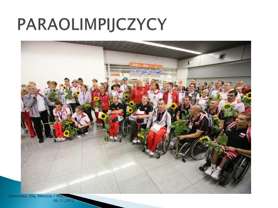 PARAOLIMPIJCZYCY Dominika, Ola, Marysia - Płochocin 06.11.2012