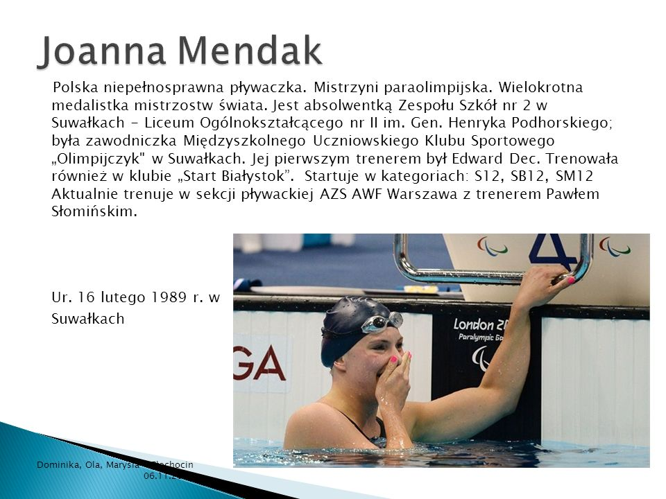 Joanna Mendak