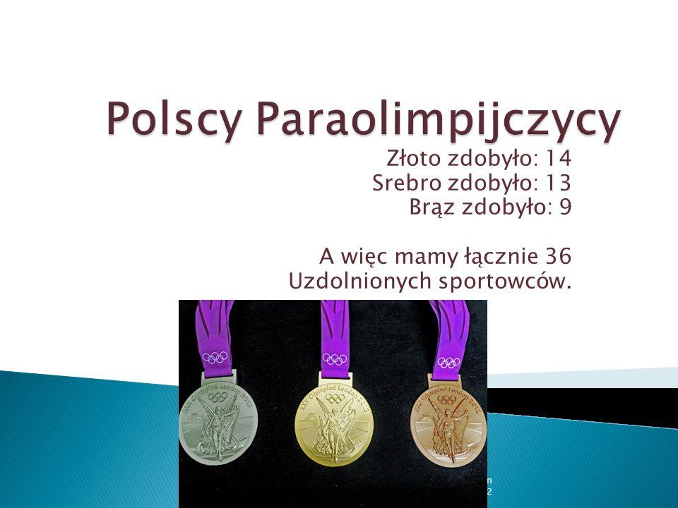 Polscy Paraolimpijczycy