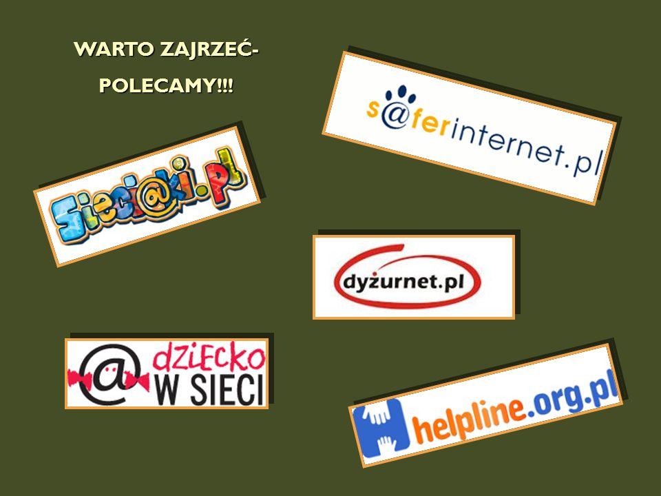 WARTO ZAJRZEĆ- POLECAMY!!!