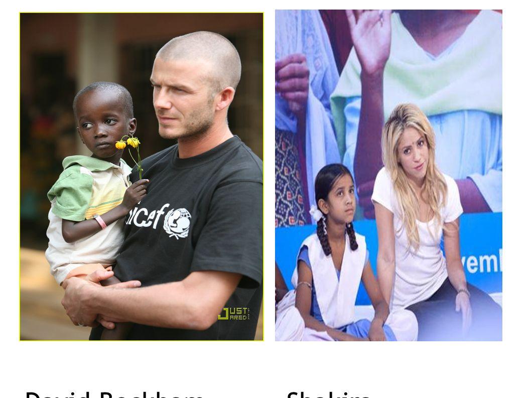 David Beckham Shakira