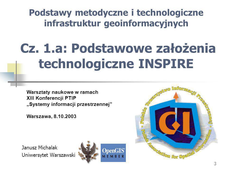 Janusz Michalak Uniwersytet Warszawski