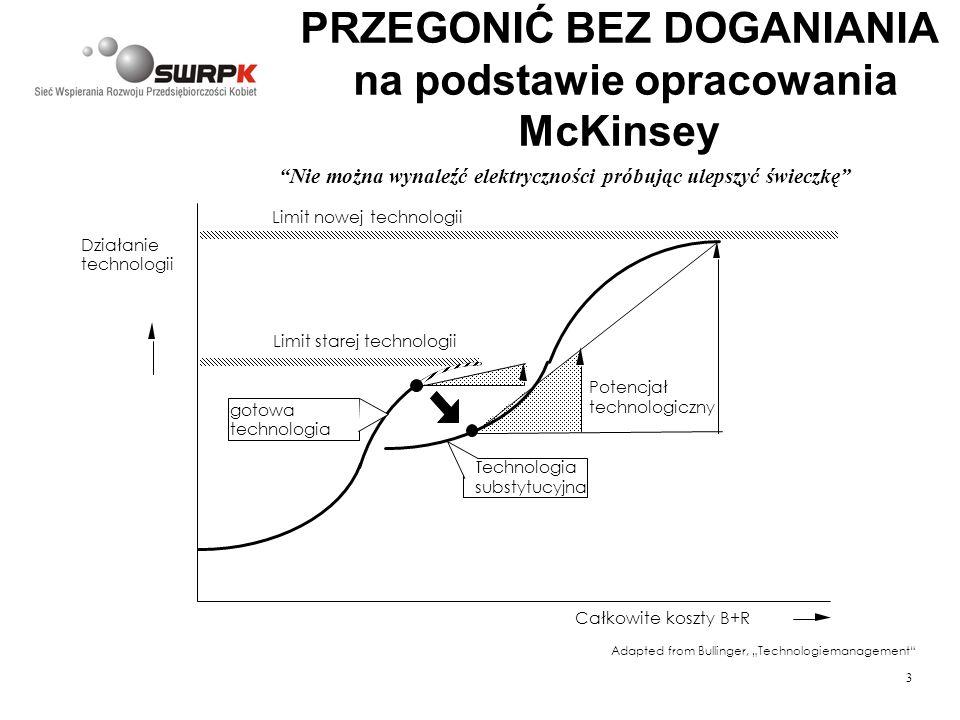 PRZEGONIĆ BEZ DOGANIANIA na podstawie opracowania McKinsey