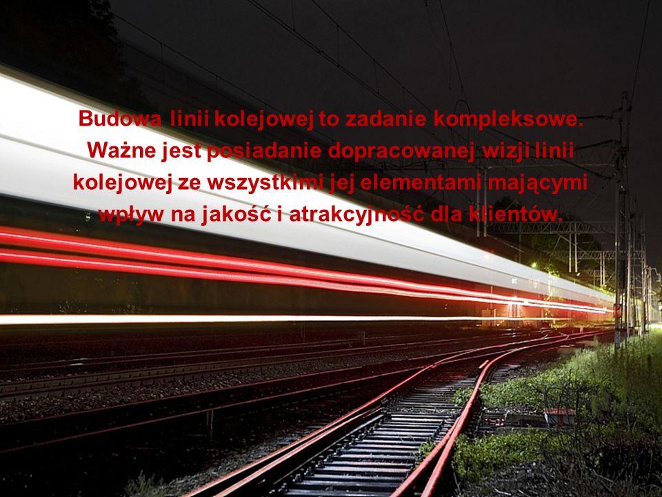 Budowa linii kolejowej to zadanie kompleksowe