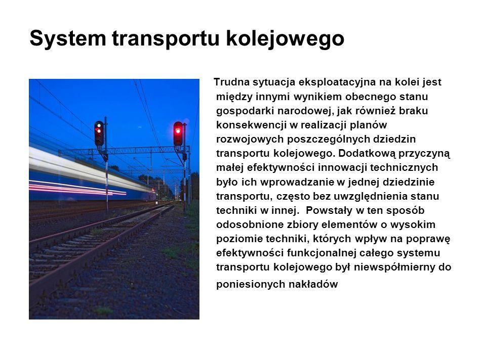 System transportu kolejowego
