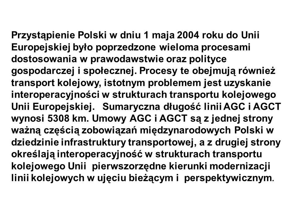 Przystąpienie Polski w dniu 1 maja 2004 roku do Unii Europejskiej było poprzedzone wieloma procesami dostosowania w prawodawstwie oraz polityce gospodarczej i społecznej.