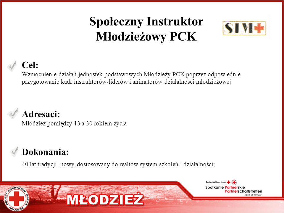Społeczny Instruktor Młodzieżowy PCK