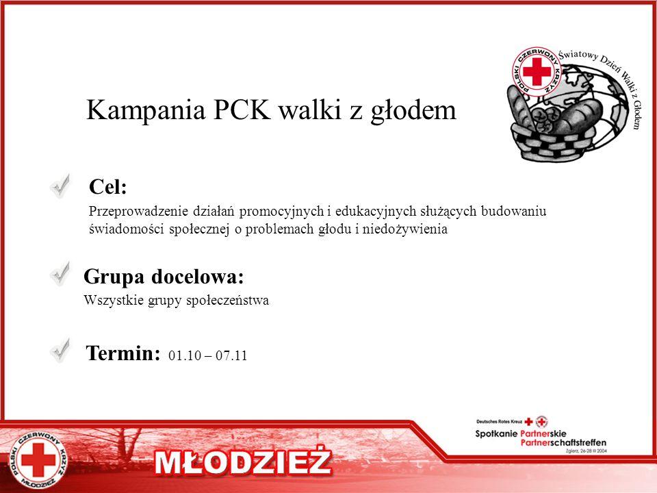 Kampania PCK walki z głodem