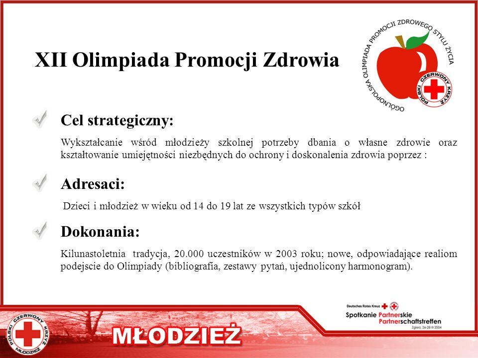 XII Olimpiada Promocji Zdrowia