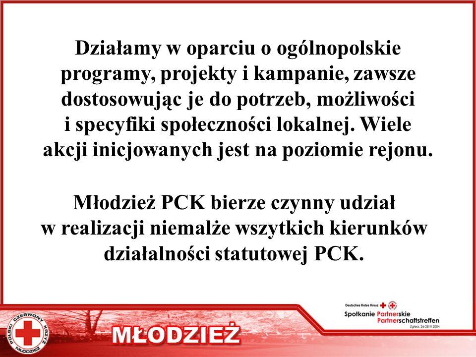 Młodzież PCK bierze czynny udział