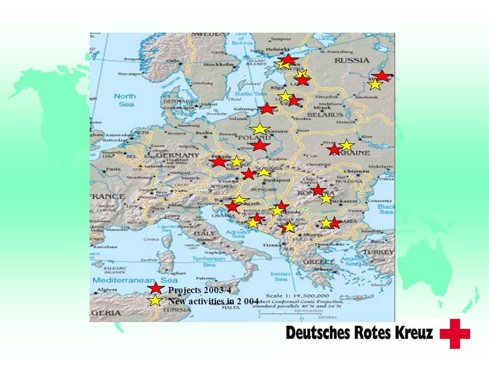 Projects 2003/4 New activities in Kriege/Bürgerkriege
