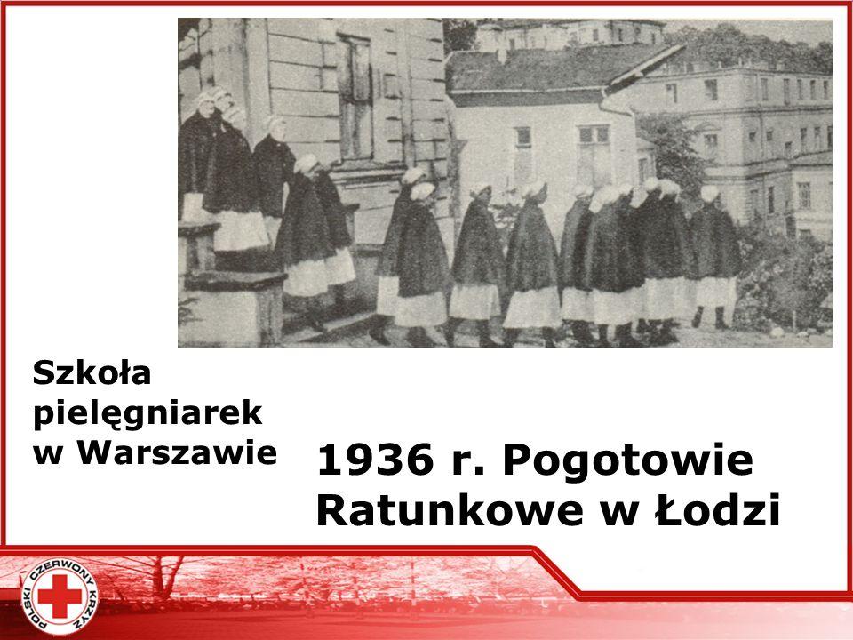 1936 r. Pogotowie Ratunkowe w Łodzi