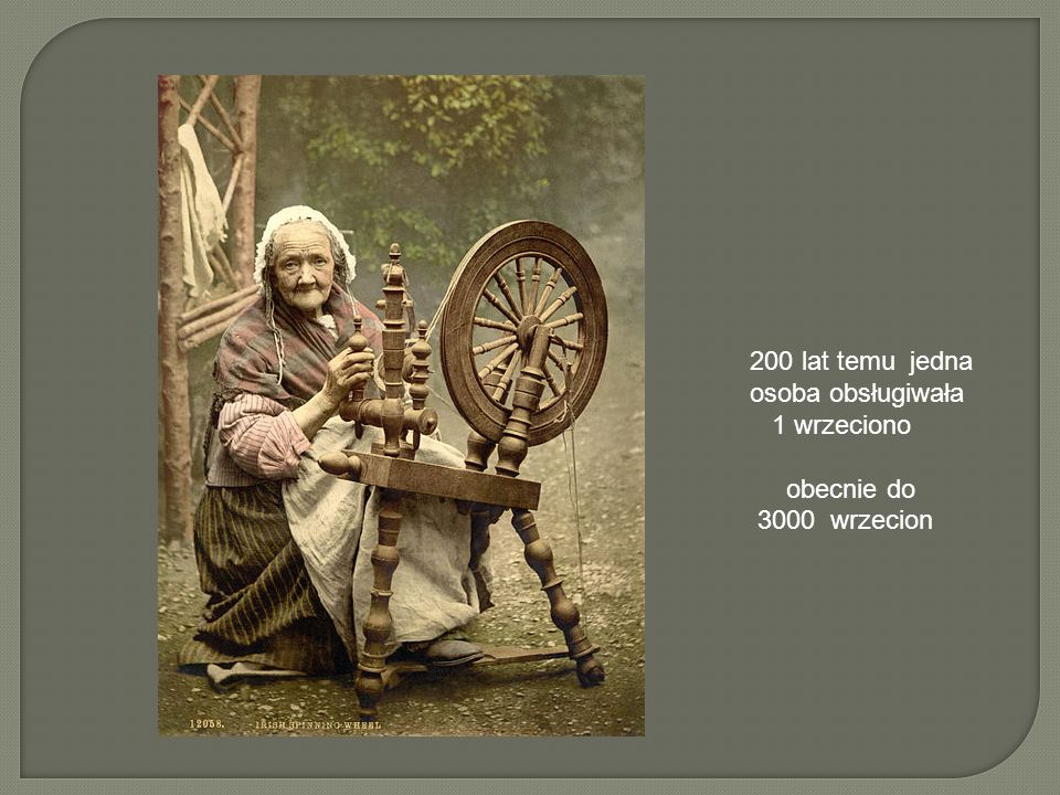 200 lat temu jedna osoba obsługiwała