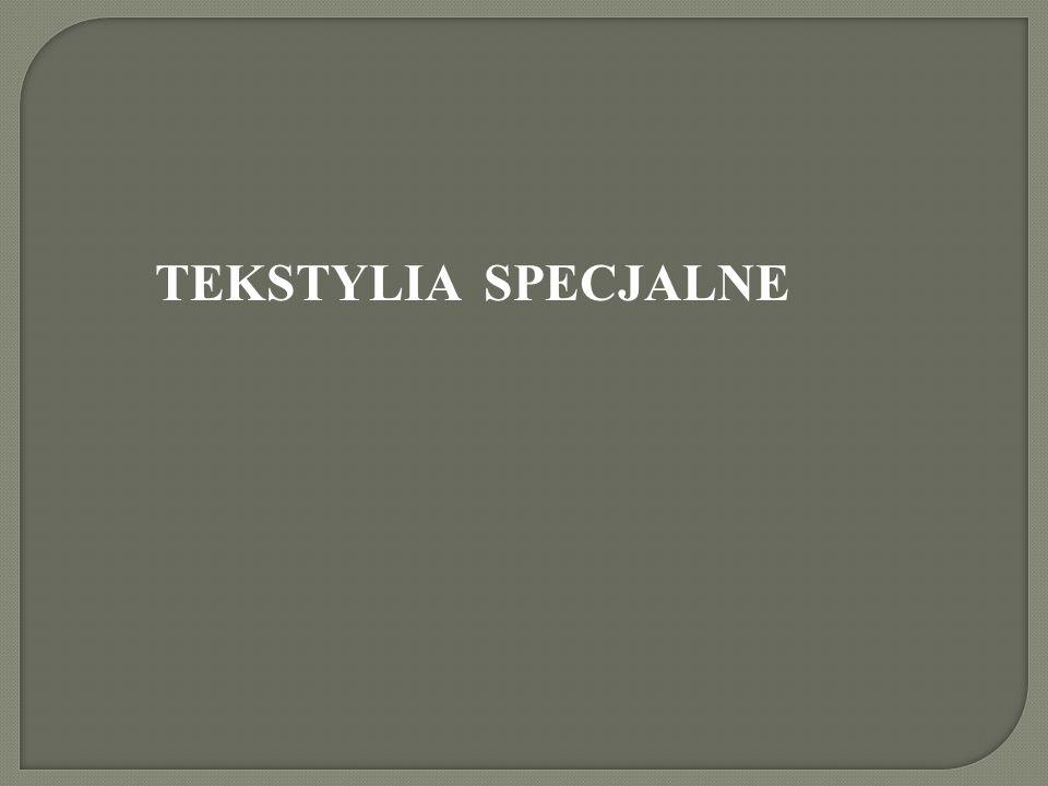 TEKSTYLIA SPECJALNE
