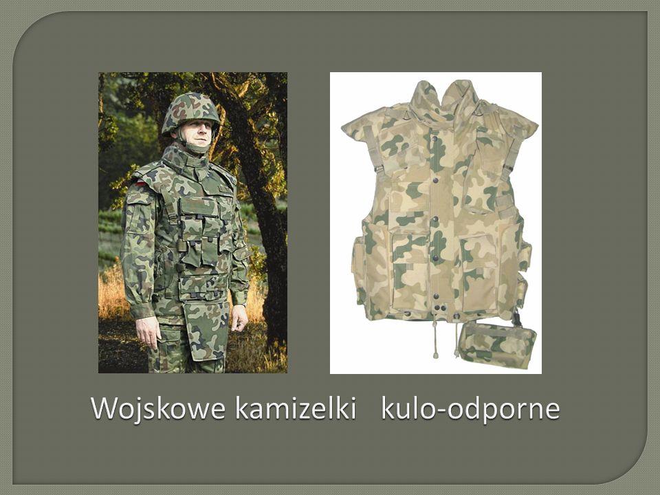 Wojskowe kamizelki kulo-odporne