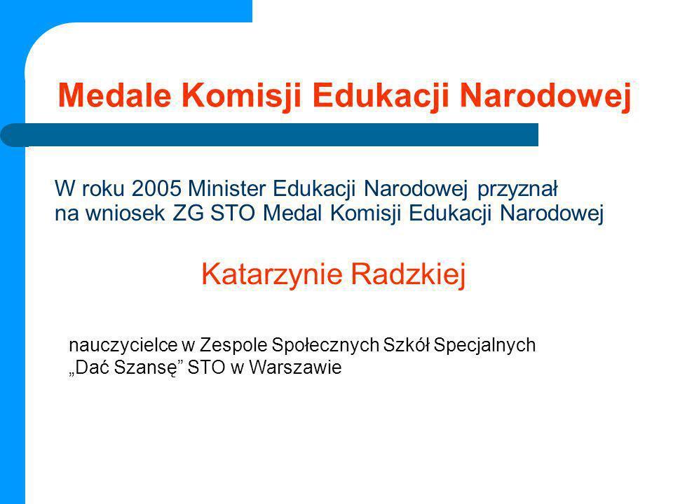 Medale Komisji Edukacji Narodowej